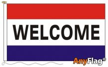 WELCOME  ANYFLAG RANGE - VARIOUS SIZES